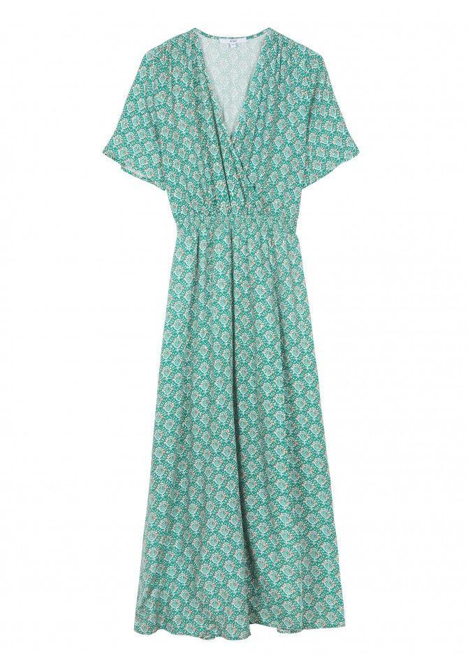 FLORENCE - Wrap printed dress - ANGE